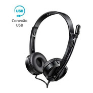Headset Rapoo Usb Preto Garantia 5 Anos H120 - Ra020