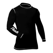 Remera Termica Mangas Largas Hombre Proteccion Uv 50 Spandex Flash