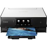 Impresora Canon Pixma Ts9020, Negra Con Blanco, Inalambrica
