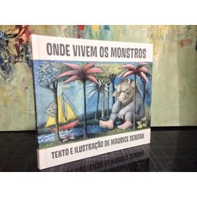 Livro Onde Vivem Os Monstros Maurice Sendak Cosac Naify