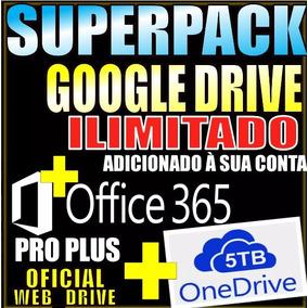 Google Drive Ilimitado Add A Conta Existente + Onedrive 5tb
