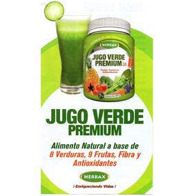 Jugo Verde Premium De Herbax 500 Grs, Purificar Y Bienestar