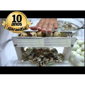 Maquina De Descascar Ovos De Codorna, Inacreditavel