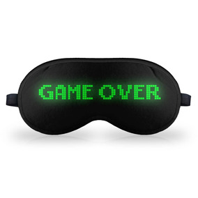 Mascara De Dormir Em Neoprene - Game Over
