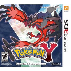 Pokemon X Ou Y Nintendo 3ds Original Americano Loja Bh !!!!
