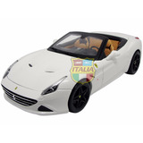 Ferrari California T Open Top Signature 1:18 Bburago Branco