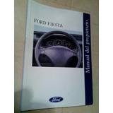 Manual Del Usuario Del Ford Fiesta
