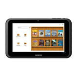 Tablet Genesis Gt-7301 Android, 4gb, 7, Wi-fi, 3g /preto
