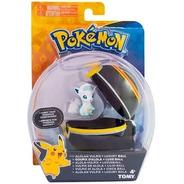 Boneco Açao Pokemon Pokebola Pikachu Vulpix Machop Carbink