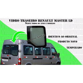 Vidro Traseiro Renault Master Ld