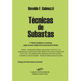 Técnicas De Subastas 3a Edición De Galmozzi Osvaldo