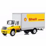 Miniatura De Caminhão Bau Truck Shell Greenlight Top 64