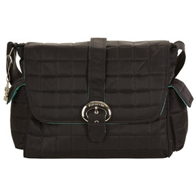Bolso Maternal Bbuckle Bag Quilted Black