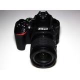 Cámara Reflex Nikon D5500+lente 18-55mm+ Memoria De 16gb.