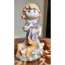 Preciosos Momentos Niña Figura De Porcelana Fina