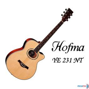 Violão Elétrico Acústico Hofma By Eagle Ye 231 Nt (natural)