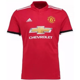 Camisa adidas Manchester United 2017/2018 Home