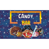 Candy Bar Angry Birds Star Wars Personalizados Imprimible