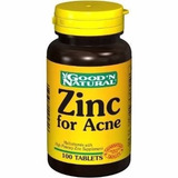 Zinc For Acne Good Natural 100 Tabletas Limpiesa Extre Cutis