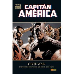 Marvel Deluxe Capitán América 4 Civil War Comics Panini