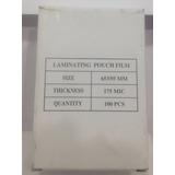 Lamina Para Plastificar Carnet Cedula 65 X95 175 Micrones