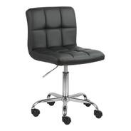 Cadeira Noruega Em Pu C/ Rodizio - Promoção Frete Grátis