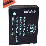 Bm Premium Dmw-bcg10 Batería Para Panasonic Lumix Dmc-zs20