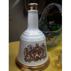 Botella Whisky Scotch Bells Boda Lady Diana
