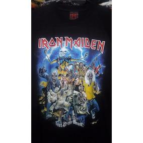 Remera Importada Heavy Metal Banda Iron Maiden 6 Modelos