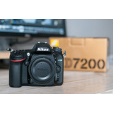 Nikon D7200 Body 24,2 Mpx Lcd 3.2 Full Hd Wifi Stock! Nuevas