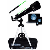 Telescopio Quasar Q60 Cámara Usb Y Láser Verde 525x