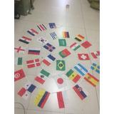 Banderas Banderines Del Mundial 32 Paises