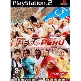 Pes 6 Peru 2014 - Playstation 2 Patch Futebol Dvd Frete 9,00