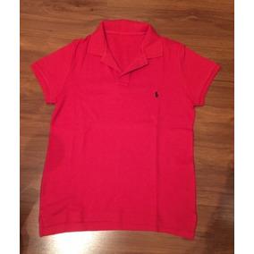 Camiseta Polo Tecido Elastano