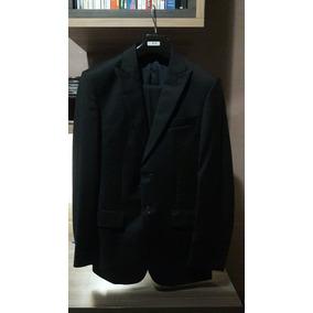 Terno Completo Brooksfield Luxury - Lã Fria - Preto