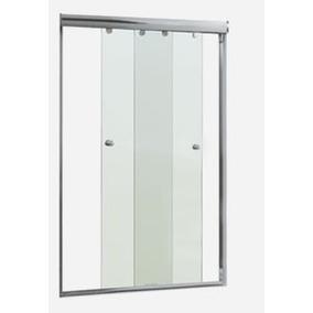 Kit 2 Portas De Correr 1,20mt - P/ Instal. De Box Em Vidro