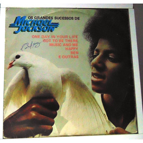 Lp Michael Jackson - Os Grandes Sucessos - Got To Be There-
