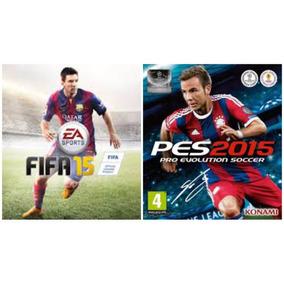 Fifa 15 + Pes 2015 Ps3 || Combo || Stock Ya! || Falkor!