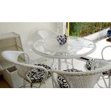 Conjunto Mesa Arcobalena E Cadeiras Jardim E Sacada Design