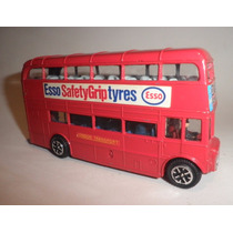 Antiguo Dinky Toys London Bus C/ Figuras Colección Juguete