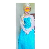 Vestido De La Reina Elsa Talla 8