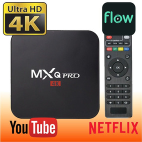 Convertidor Smart Android Tv Box Mxq 4k Pro Hdmi Av Rca