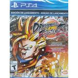 Dragon Ball Fighter Z Ps4 Fisico Edicion Dia Uno Winplaygame