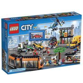 Nuevo Lego City Entorno Urbano 60097 City Square Camion Lego