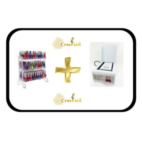 Estufa Alicates Manicure Esterilizador + Expositor 150 Un