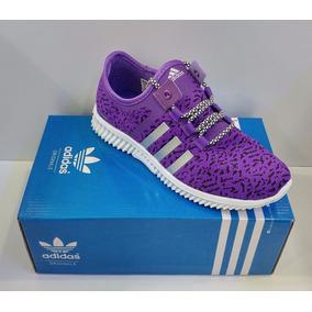Zapatos morados Adidas para mujer p1hxg