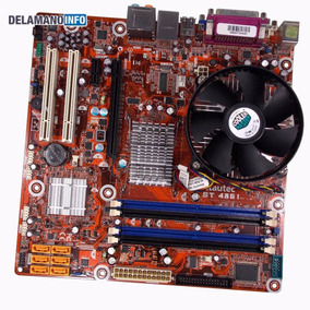 Placa Mãe Desktop Lga775 Ddr2 Processador Core 2 Duo (9584)