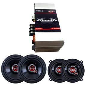 Kit Auto Falante 5 Pol + 6 Pol Unlike 200 Watts +módulo 100w