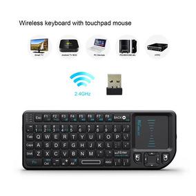 Teclado Wireless Rii Mini Control Remoto Fact A O B