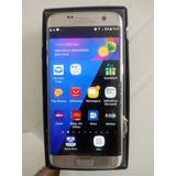 Samsung S7 Edge 32gb - Prata - Pequeno Trincado P Superior